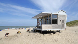 design strandhuisje cadzand