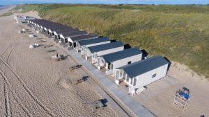 strandhuisje logeren aan zee