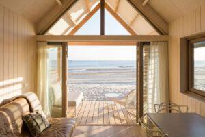 Beach Houses Vlissingen uitzicht over het strand en de zee