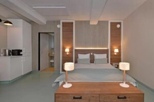 Beachrooms Pier 7 slaapkamer