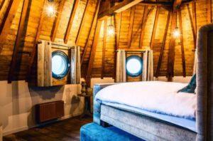 De Gevangentoren Suite slaapkamer
