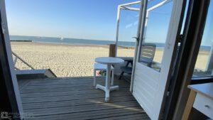strandhuisje vlissingen westduin binnenkant uitzicht op zee